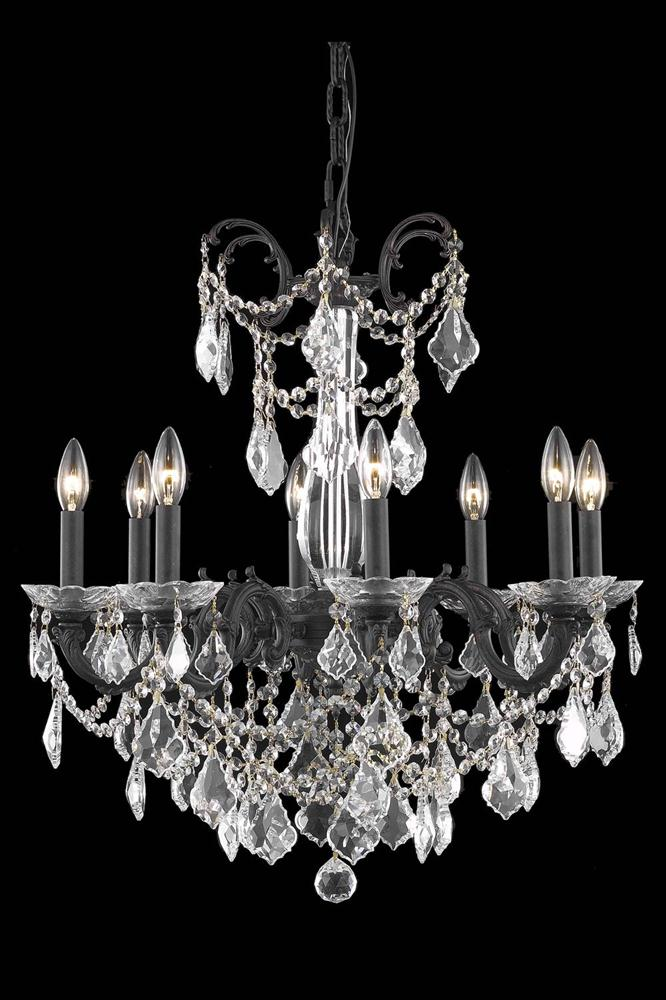 Elegant Lighting 9708d24 Athena 8 Light 24 Inch Dining