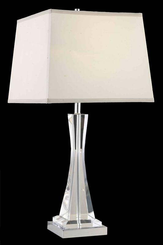 Elegant Lighting TL126 Grace 1 Light Table Lamp Shown In
