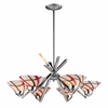 ELK Lighting (1475/6CRW) Refraction 6-Light Chandelier