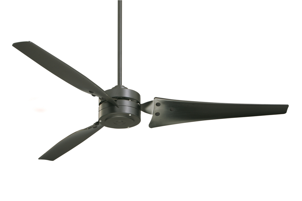 Emerson 60 inch loft contemporary 3 blade ceiling fan Modern white ceiling fan