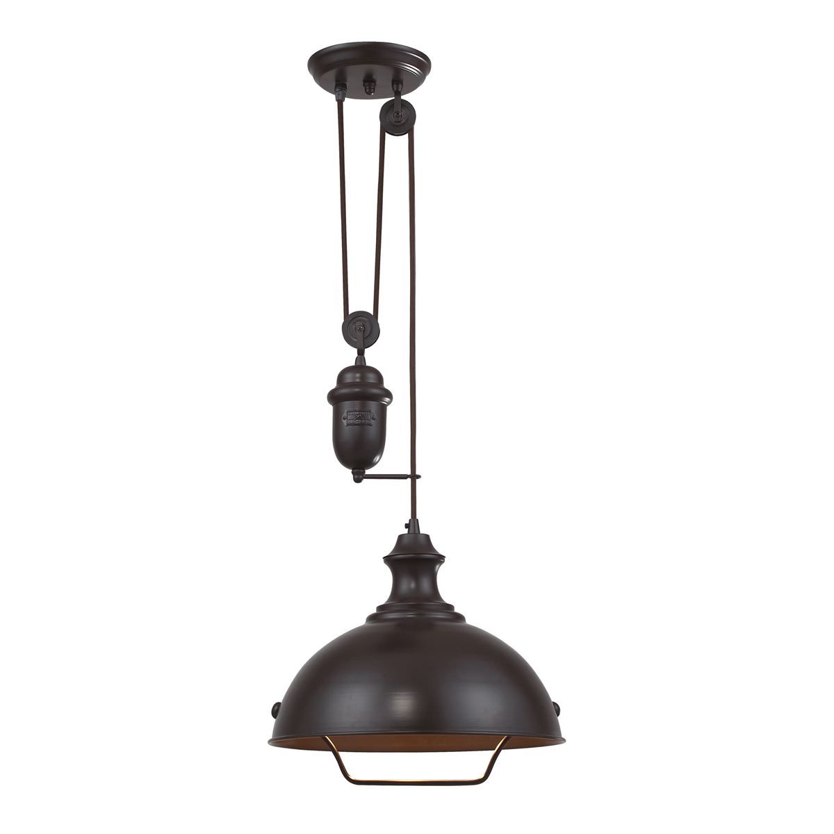 ELK Lighting 1 Farmhouse 14 Inch Pendant