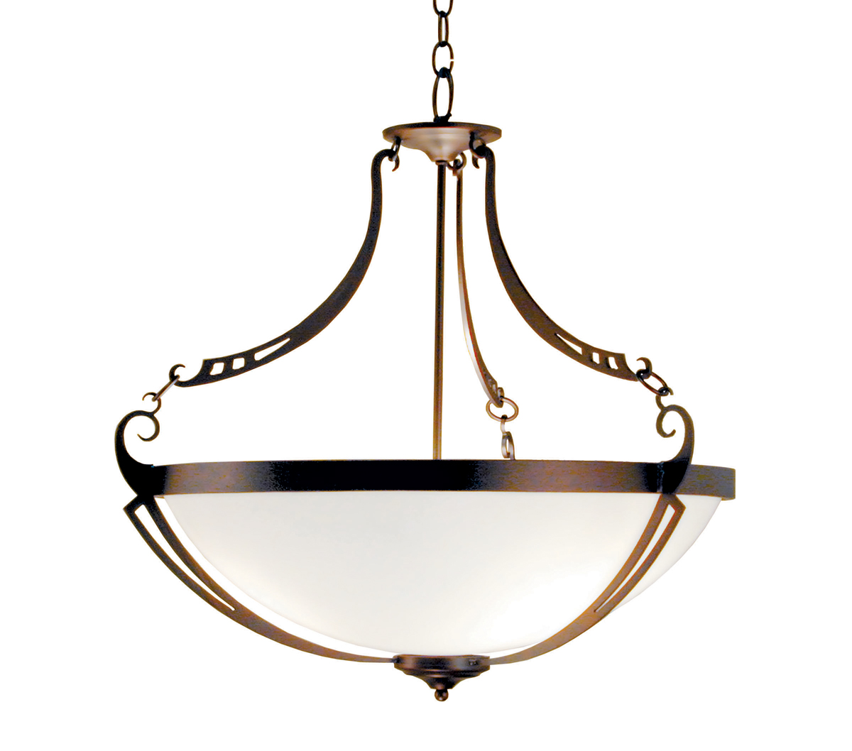 2nd Avenue Lighting Focus 28 Inch Pendant Shown In Rusty Nail Finish