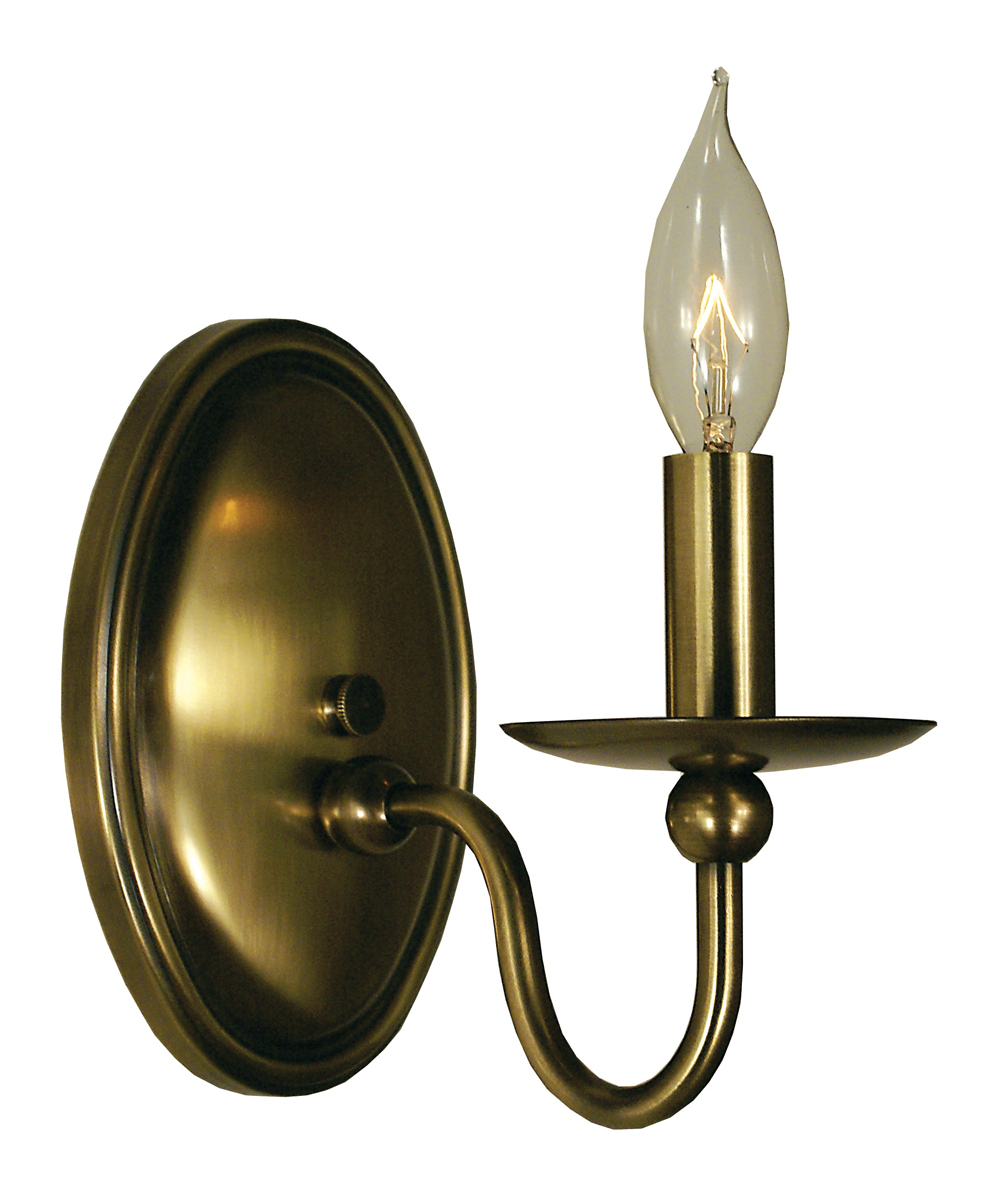 Framburg Lighting (1158) 1-Light Quatrefoil Wall Sconce