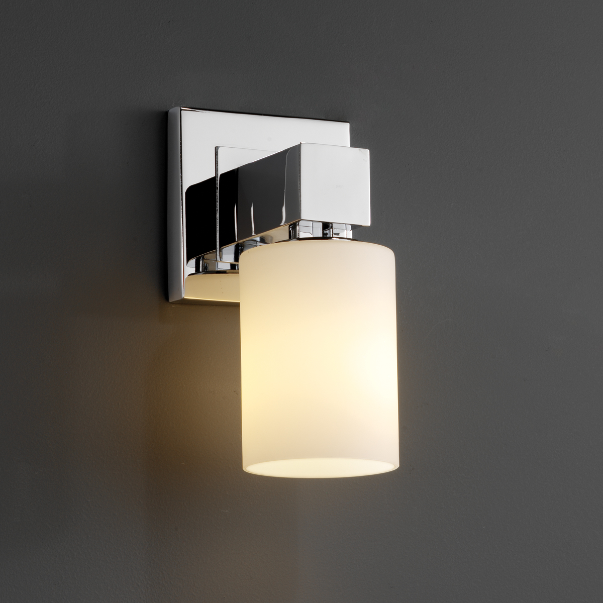 Justice Design (FSN-8705) Aero 1-Light Wall Sconce (No Arms) from the Fusion Collection