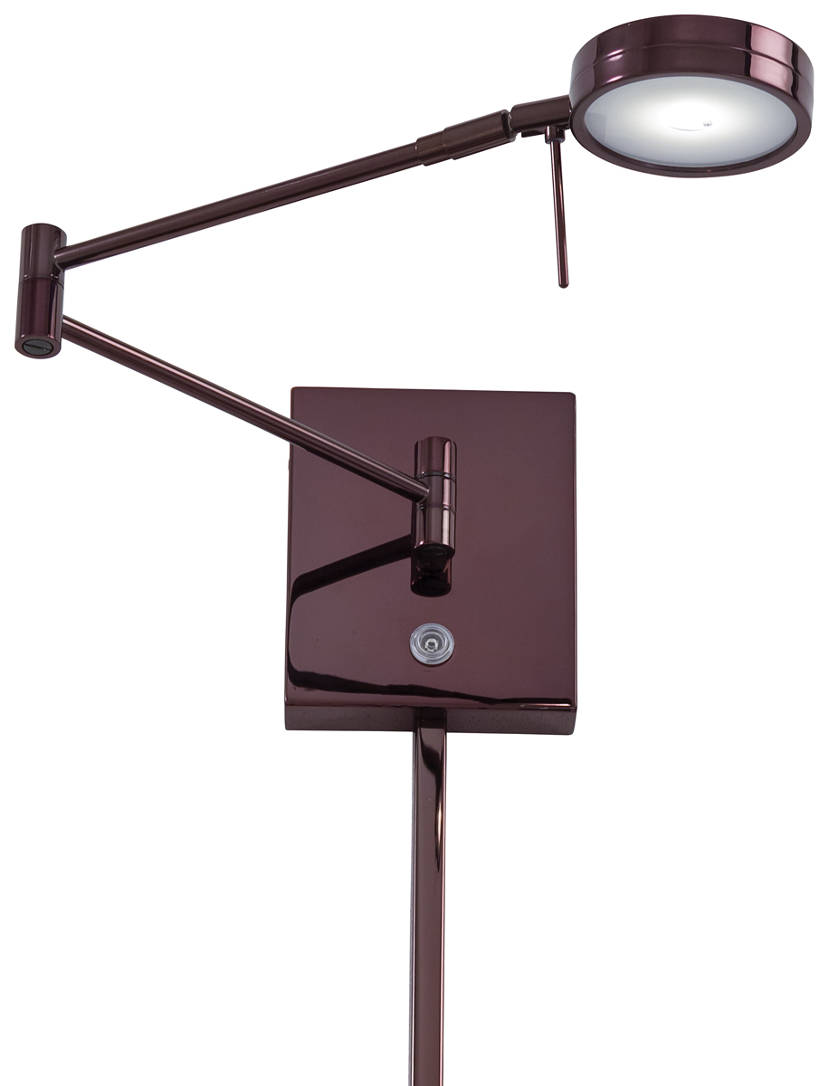 George Kovacs (P4308) Puck 1 Light LED Swing Arm Wall Lamp