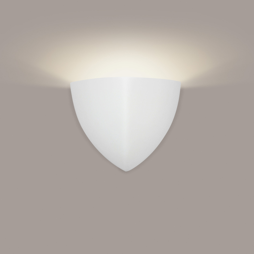 Gran Malta Wall Sconce 1 Light Fixture shown in Bisque by A19 Lighting - A19-902