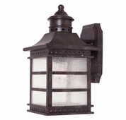Savoy House (5-440-72) Seafarer Wall Mount Lantern in Rustic Bronze
