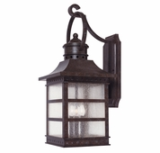 Savoy House (5-441-72) Seafarer Wall Mount Lantern in Rustic Bronze