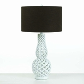 Horizons Collection (8278-TL) Chain Link 1 Light Table Lamp by AF Lighting