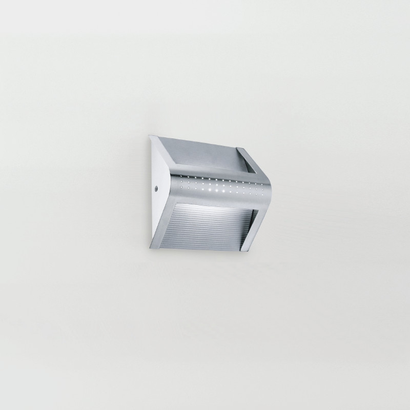 Brushed Chrome Wall Sconces : Zaneen Modern Hot Wall Sconce In Brushed Chrome Made In Italy - D2-3023