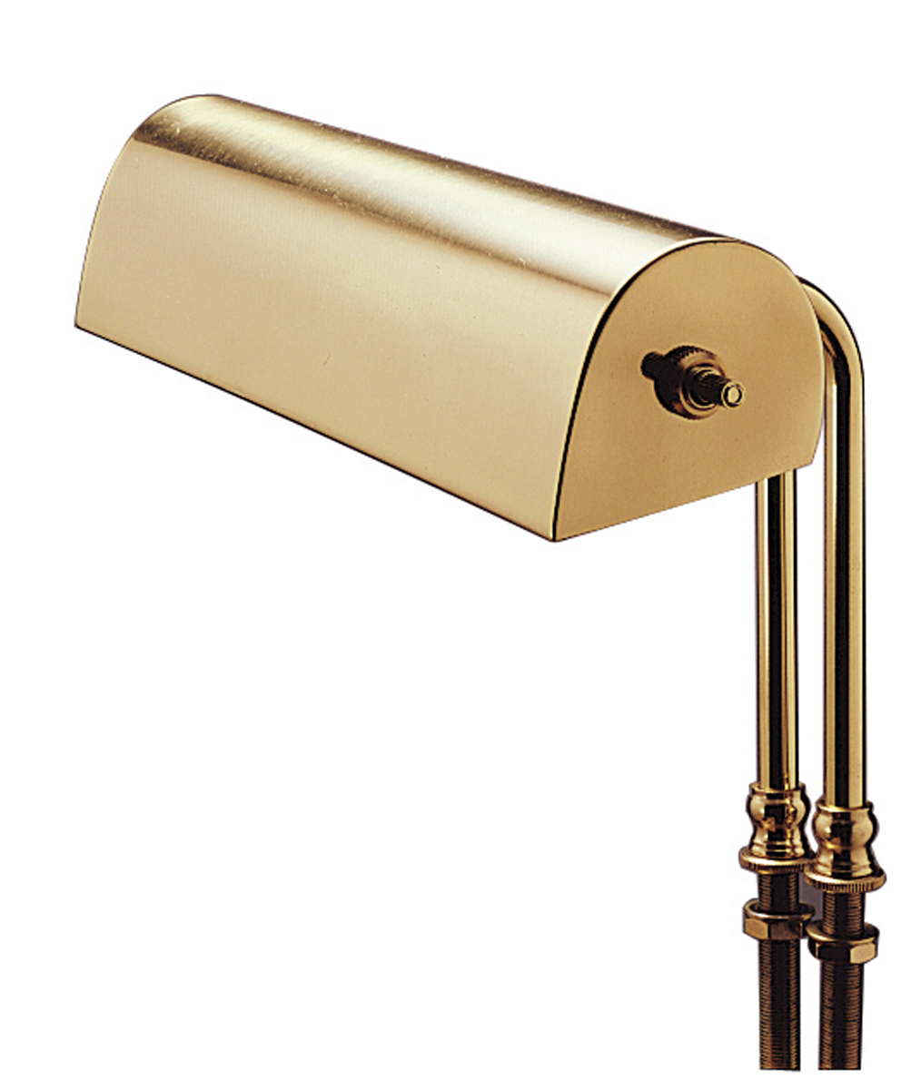 Wall Hugging Floor Lamp : House of Troy (L10) Lectern 10 Inch Task Light shown in Polished Brass