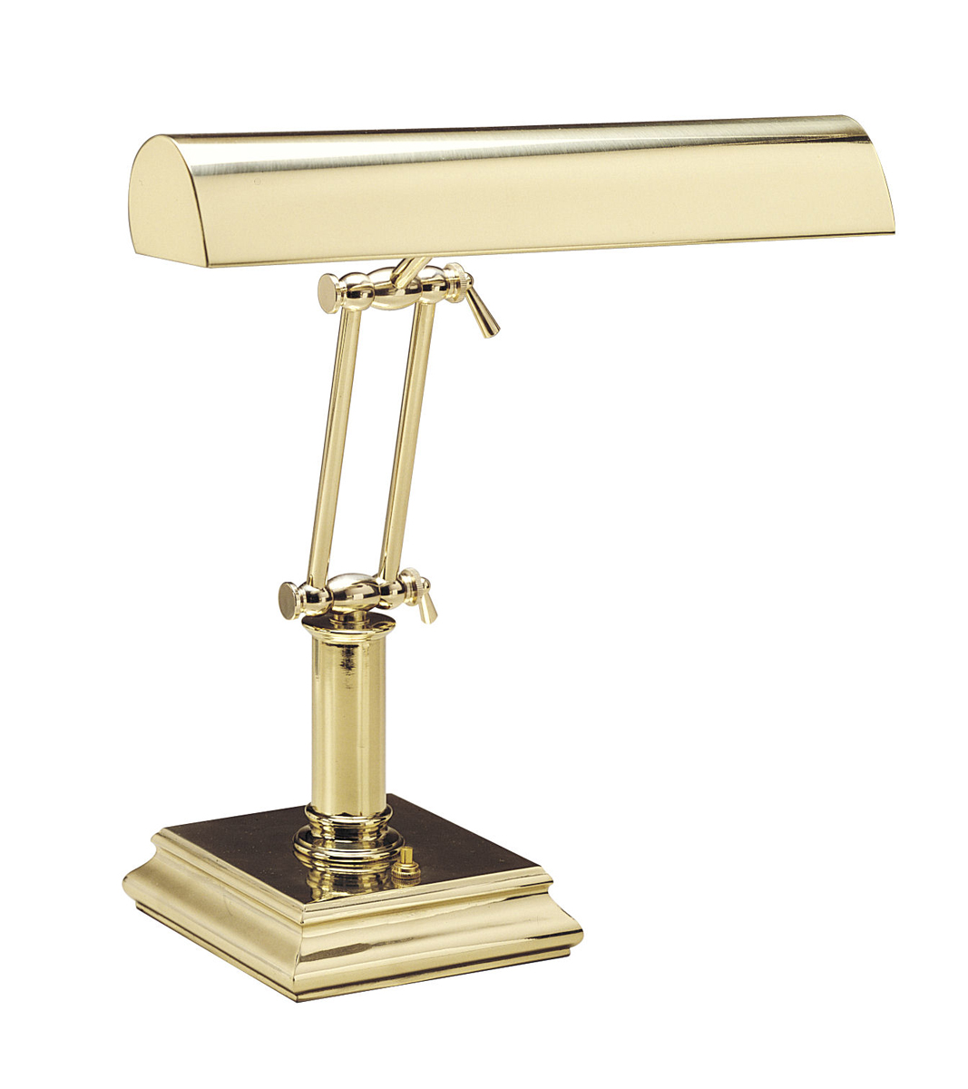 House of troy p14 202 ab piano desk lamp contemporary - House Of Troy P14 201 14 Inch Piano Desk Lamp Shown In Polished Brass