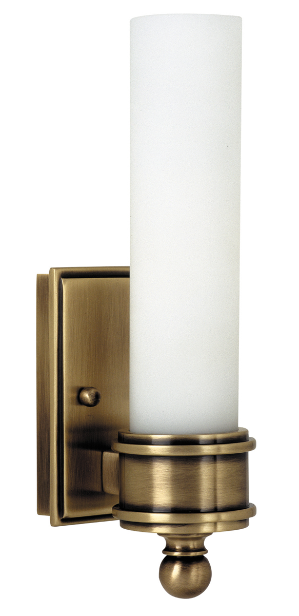 Decorative Antique Wall Sconces : House of Troy (WL601) Decorative Wall Sconce shown in Antique Brass