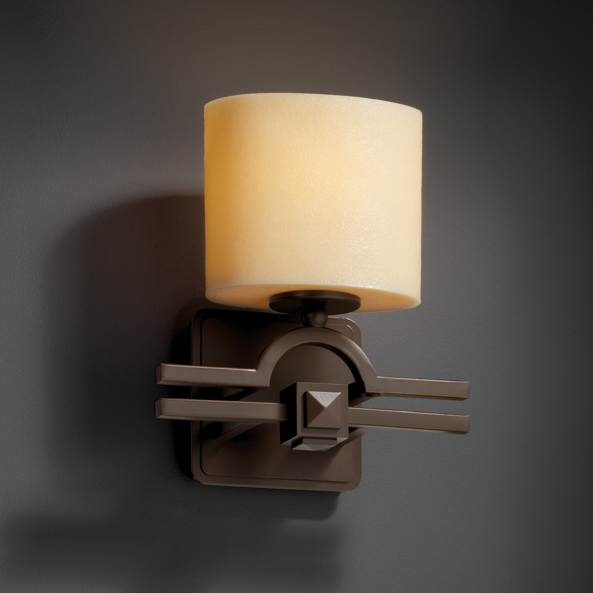 Justice Design Wall Sconces : Justice Design (CNDL-8507) Argyle ADA 1-Light Wall Sconce from the CandleAria Collection