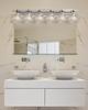 Justice Design (GLA-8506) Argyle 6-Light Bath Bar from the Veneto Luce Collection
