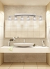 Justice Design (GLA-8596) Archway 6-Light Bath Bar from the Veneto Luce Collection