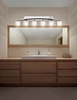 Justice Design (POR-8596) Archway 6-Light Bath Bar from the Limoges Collection
