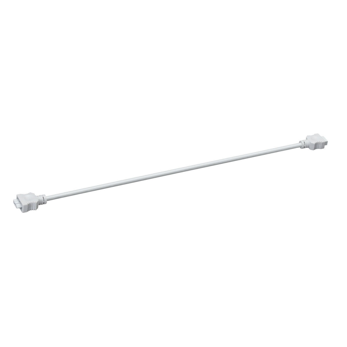 "Kichler Lighting (10573WH) 21"" Interconnect Cable in White Material (Not Painted)"