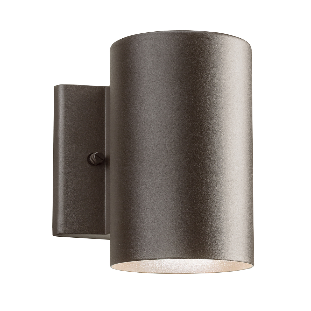 Outdoor Wall Sconce Led Light : Kichler Lighting (11250AZT30) 1-Light Outdoor LED Wall Sconce Sconce in Textured Architectural ...