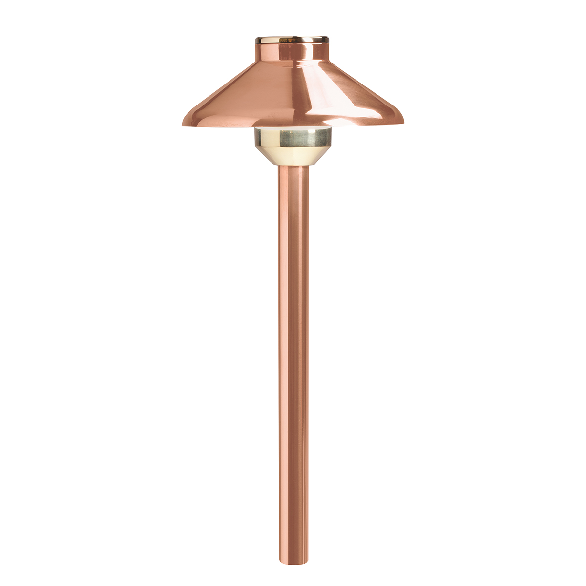 kichler lighting 15820co llena led path light in copper