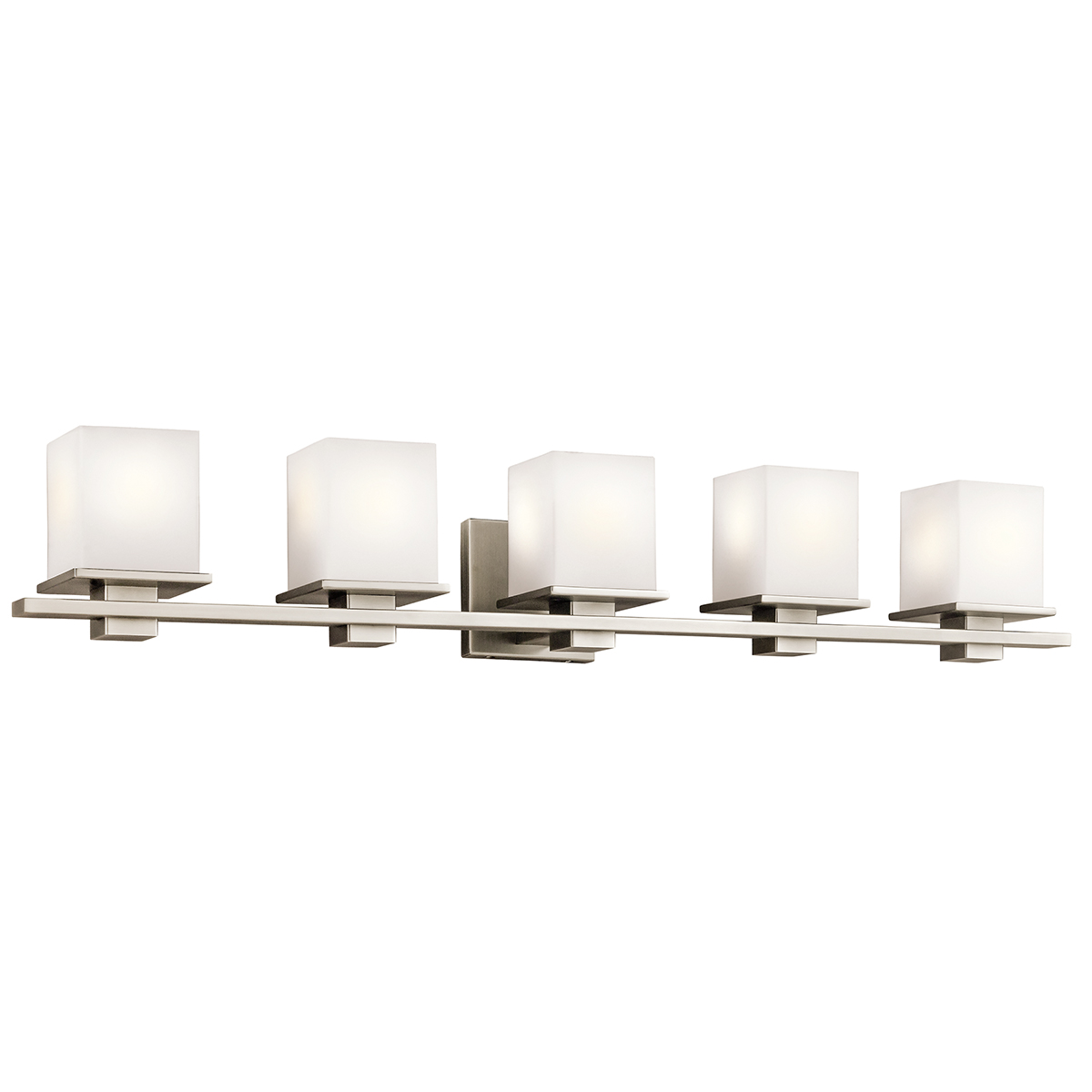 Kichler lighting 45193ap tully 5 light bath vanity for Bathroom 5 light fixtures
