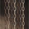 "Kichler Lighting (4908DBK) 36"" Extra Heavy Gauge Chain in Distressed Black"