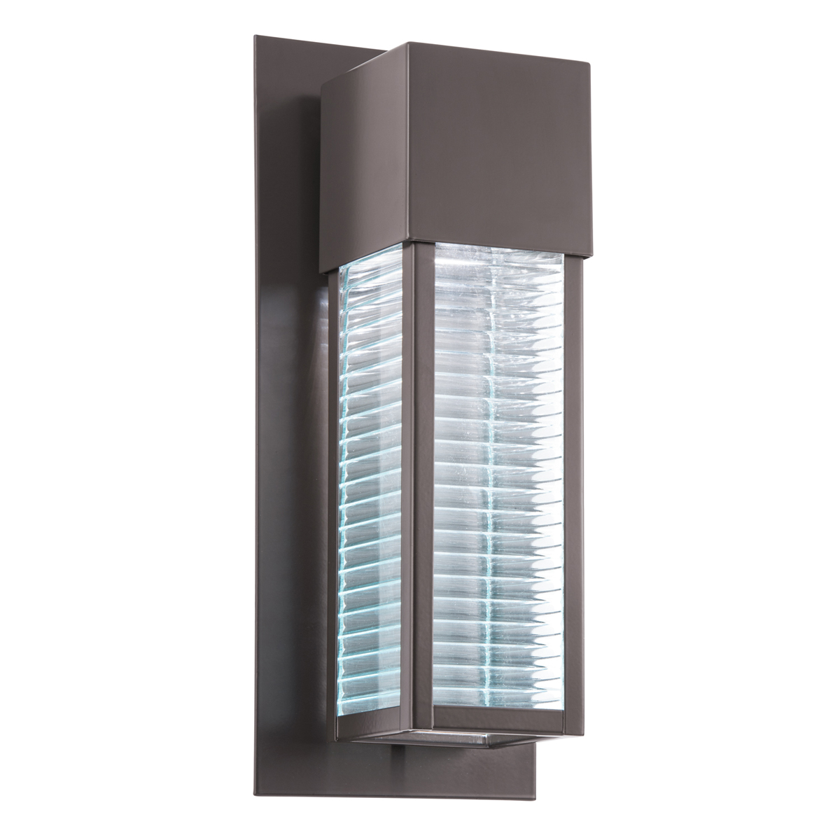 Kichler Lighting (49118AZLED) Sorel 1-Light Small Outdoor Wall Sconce in Architectural Bronze