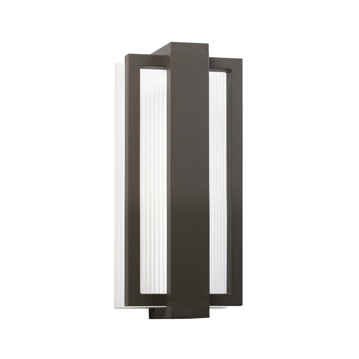 Architectural Led Wall Sconces : Kichler Lighting (49492AZ) Sedo Small Outdoor LED Wall Sconce in Architectural Bronze