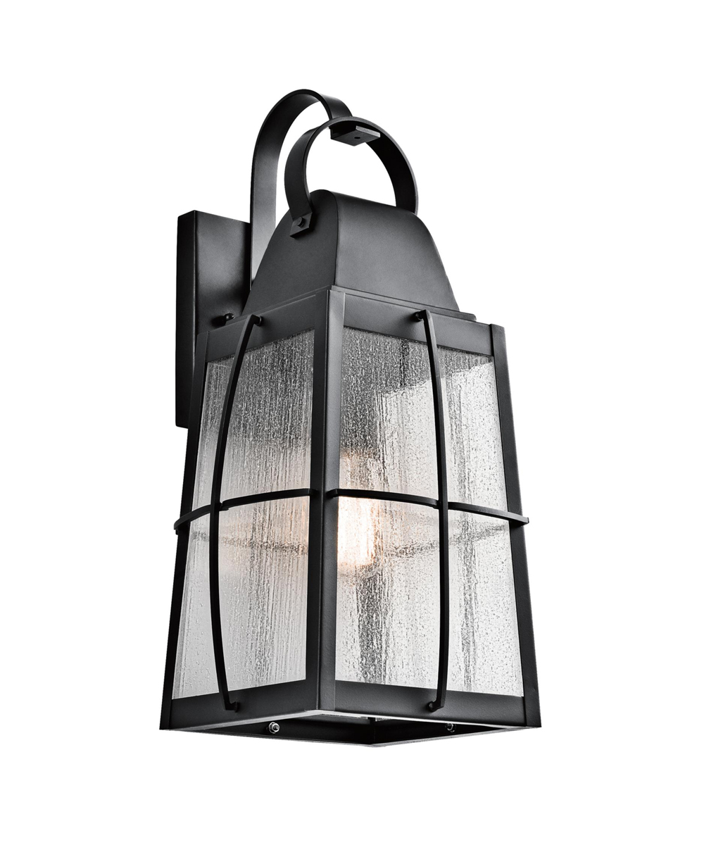 Kichler Lighting  49554BKT  Tolerand 1 Light Outdoor Wall Sconce in  Textured BlackKichler Lighting  49554BKT  Tolerand 1 Light Outdoor Wall Sconce  . Kichler Lighting Outdoor Sconce. Home Design Ideas