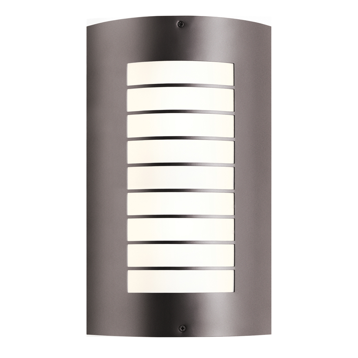 Big Outside Wall Lights : Kichler Lighting (6048AZ) Newport 2-Light Large Outdoor Wall Sconce in Architectural Bronze