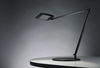 Koncept Lighting (AR2000-DSK) Mosso LED Desk Lamp with Base shown in Metallic Black from The Generation 3 Collection