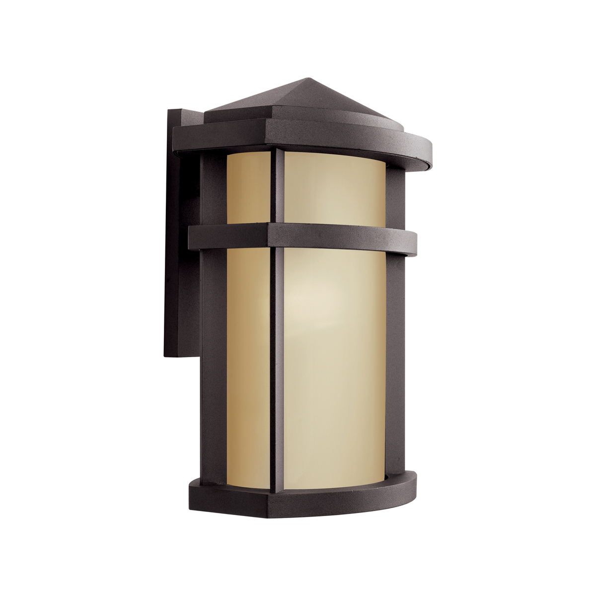 Exterior Wall Lights Architectural : Kichler Lighting (11069AZ) Lantana 1-Light Fluorescent X-Large Outdoor Wall Sconce in ...