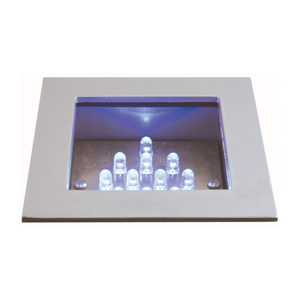 Jesco Lighting (HG-RL01B) LED Recessed Wall Aisle and Step Light