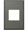Legrand (AWC1G2BP4) adorne Brushed Pewter, 1-Gang Wall Plate