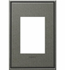 Legrand (AWC1G3DP4) adorne Dark Burnished Pewter, 1-Gang, 3-Module Wall Plate