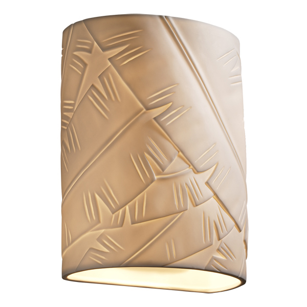 justice design por 8857 ada small cylinder wall sconce