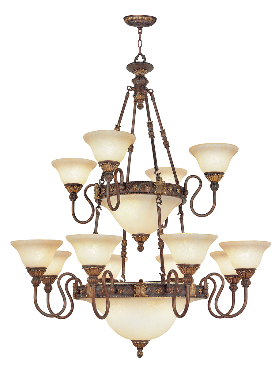 Livex Lighting 8608 Sovereign 18 Light Chandelier Shown