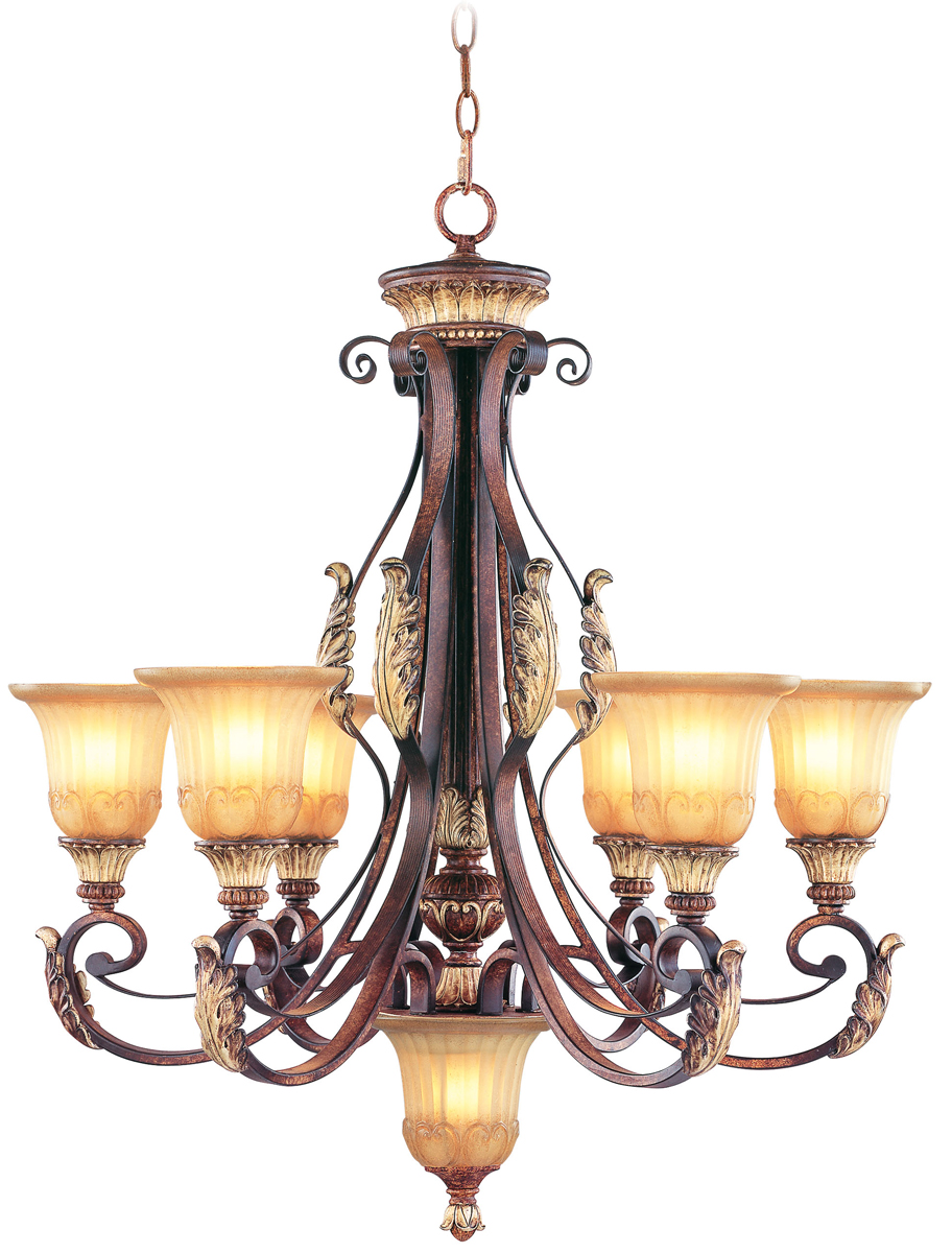 Livex Lighting 8576 Villa Verona 6 Light Chandelier