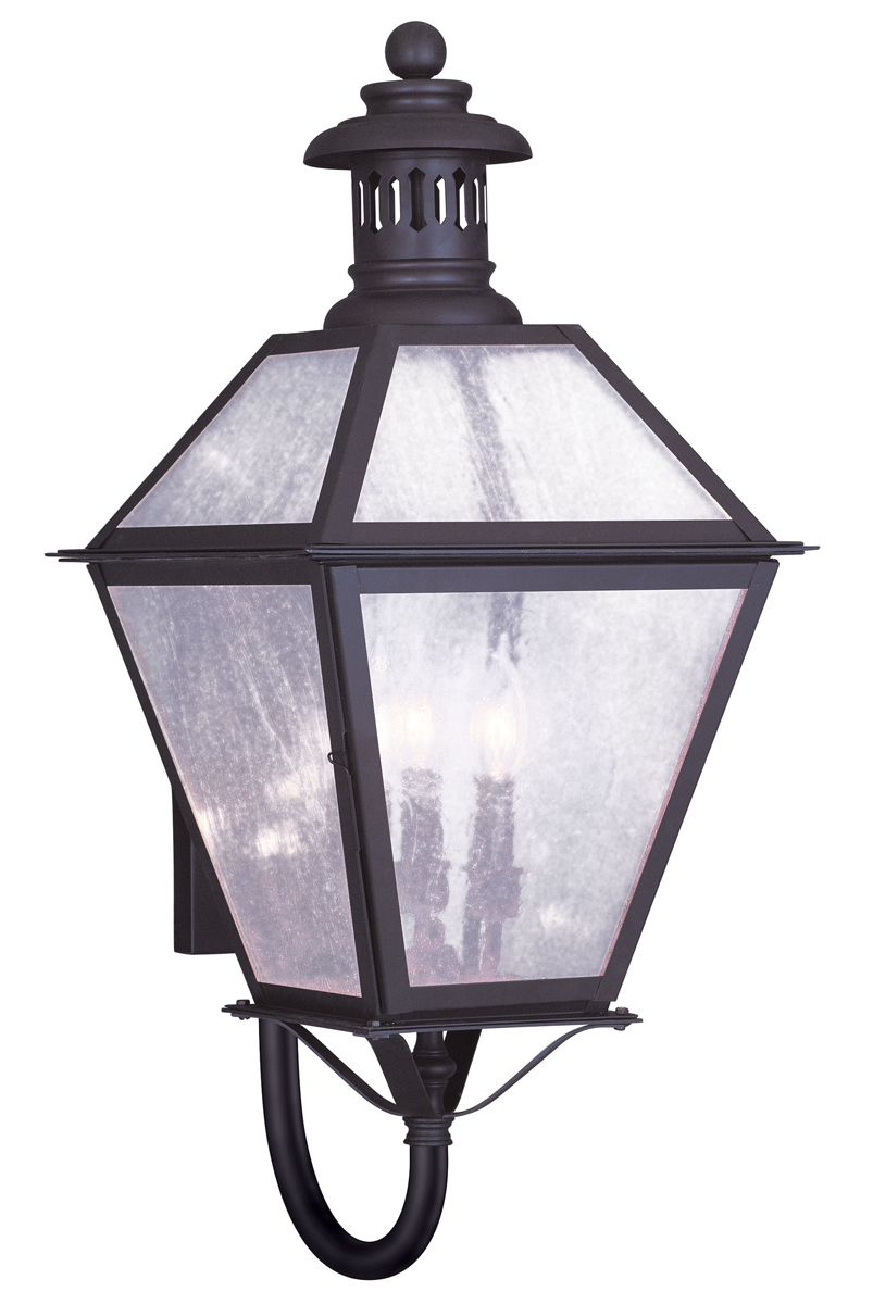 Livex Lighting 2047 Waldwick 3 Light Outdoor Wall