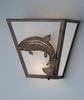 Meyda Tiffany (81981) 13 Inch Width Leaping Trout Wall Sconce