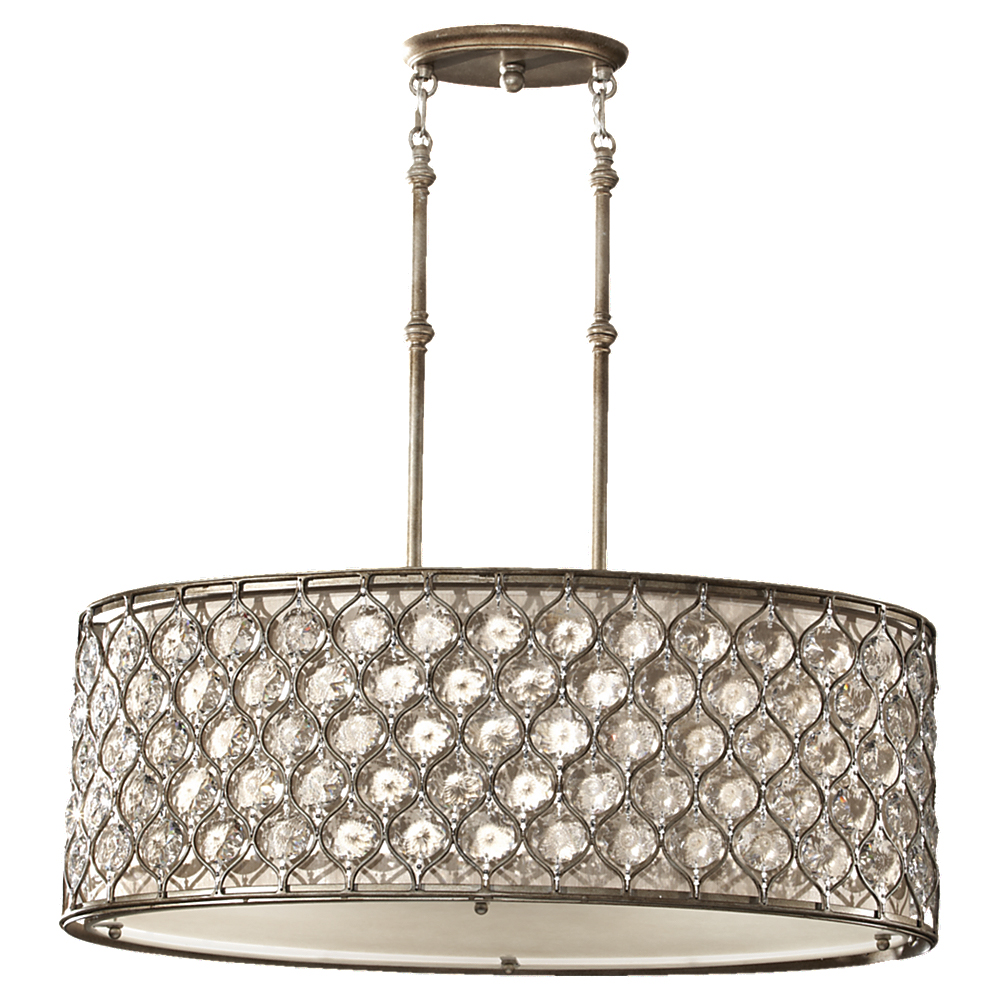 Murray Feiss (F2569) Lucia 32-1/8 Inch Shade Pendant