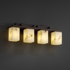 Justice Design (FAL-8674) Montana 4-Light Bath Bar from the LumenAria Collection