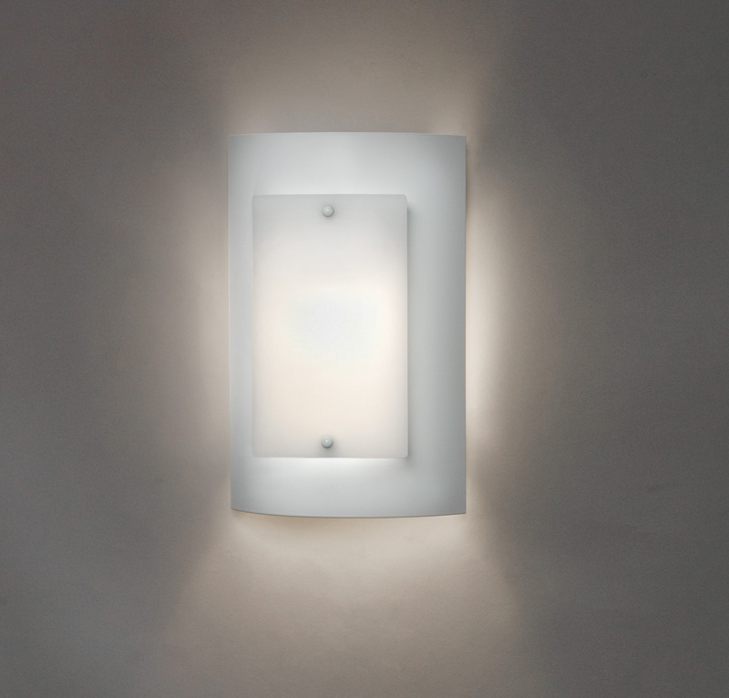 Ada Bathroom Wall Sconces : Luz Azul 1 Light ADA Wall Sconce by Ultralights Lighting - 9318L12