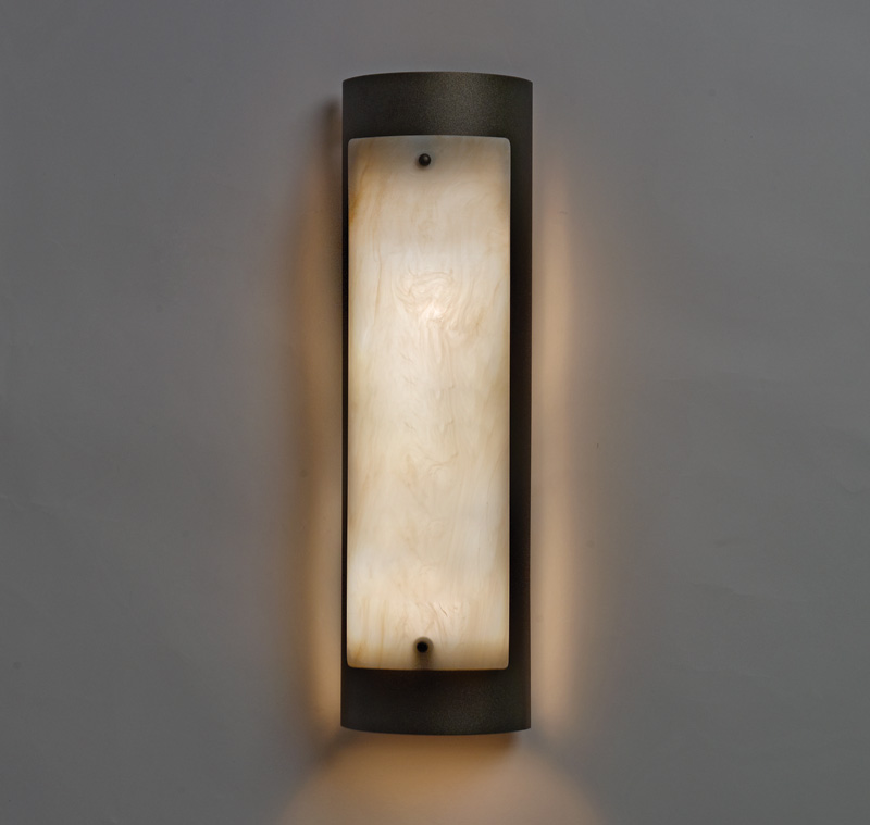 Ada Bathroom Wall Sconces : Luz Azul 2 Light ADA Wall Sconce by Ultralights Lighting - 11197L20