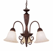 Savoy House (KP-1-5002-3-40) Liberty 3 Light Chandelier in Walnut Patina