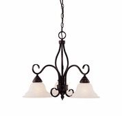 Savoy House (KP-100-3-13) Oxford 3 Light Chandelier in English Bronze