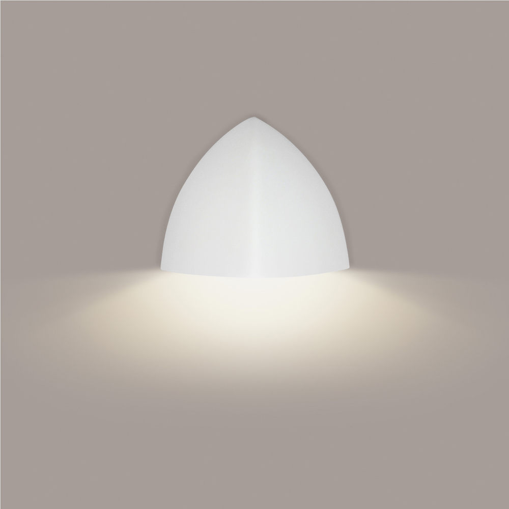 Wall Lamp Malta : Malta Downlight Wall Sconce 1 Light Fixture shown in Bisque by A19 Lighting - A19-901D