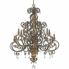 Quoizel Lighting (MQ5020HL) Marquette 20-Light Foyer Piece in Heirloom