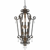 Quoizel Lighting (MQ5206HL) Marquette 6-Light Foyer Piece in Heirloom