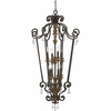 Quoizel Lighting (MQ5208HL) Marquette 8-Light Foyer Piece in Heirloom